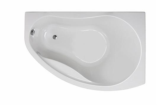 PROMISE ванна асимметричная 170*110 см, правая, c ножками SN8