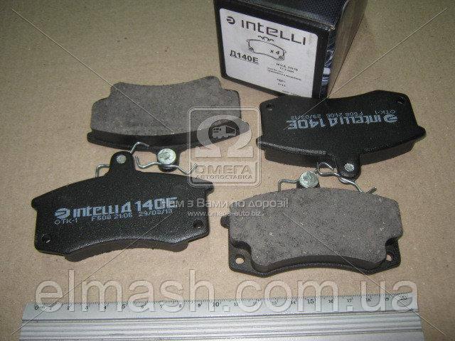 Колодка тормозная ВАЗ 2110 передняя (компл. 4шт.) (пр-во Intelli)