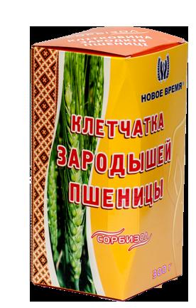 """Клетчатка зародышей пшеницы для похудения, очищения организма """"Сорбизол"""" Новое время, 300 г"""