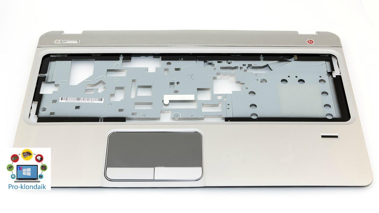 Верхняя крышка корпуса HP ENVY M6-1000 ver.1 SILVER + тачпад, отпечаток пальца, кнопка включения!