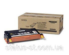Заправка картриджа Xerox Phaser 6180 yellow