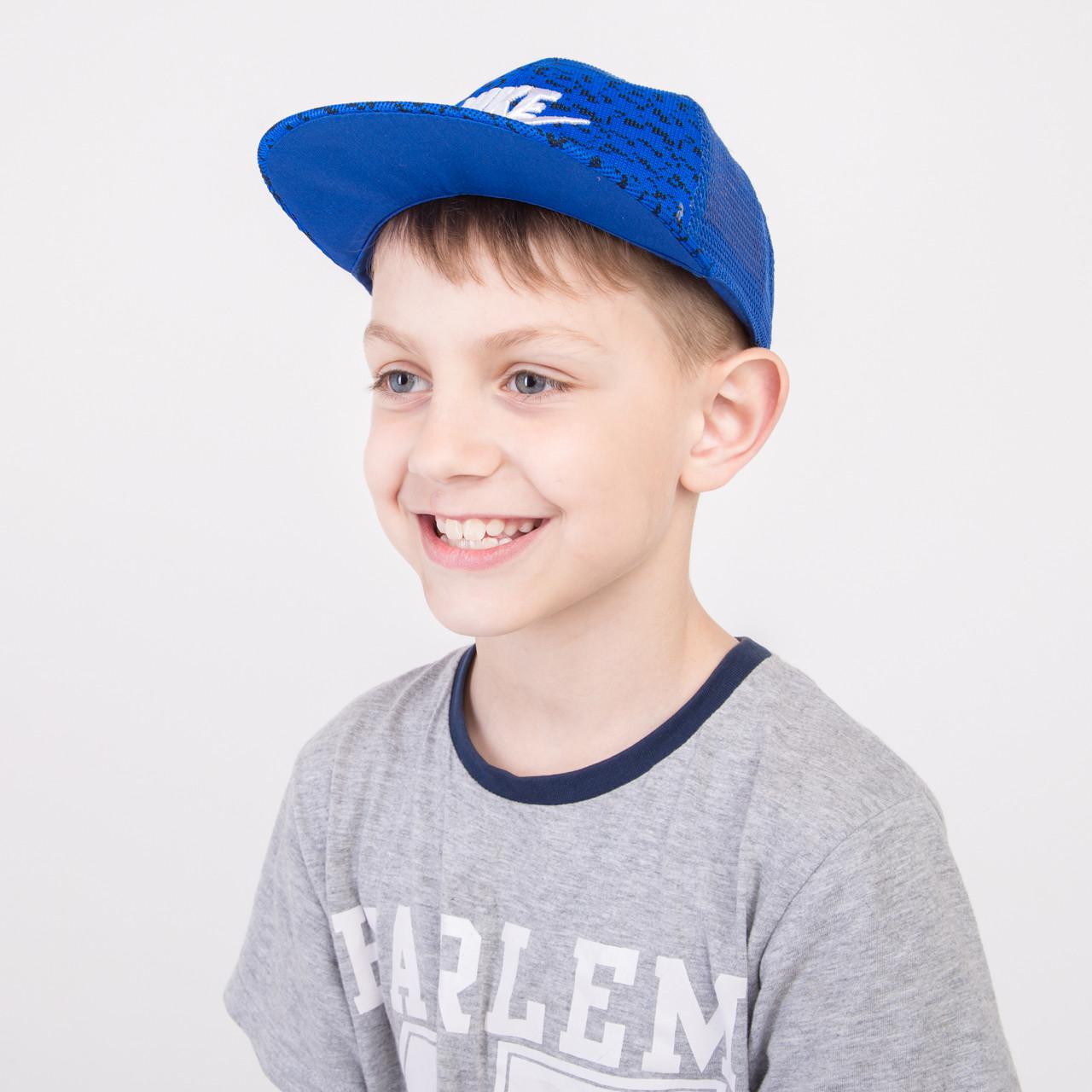 Кепка Snapback на лето для мальчика оптом - Nike (реплика) - 82018-15