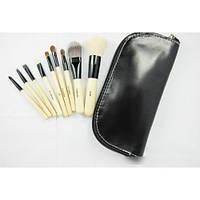Набор кистей для макияжа Bobbi Brown 9 шт + чехол в  ПОДАРОК!!!, фото 5