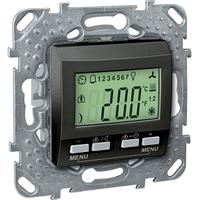 Терморегулятор KNX с дисплеем Графит Unica Schneider, MGU5.534.12