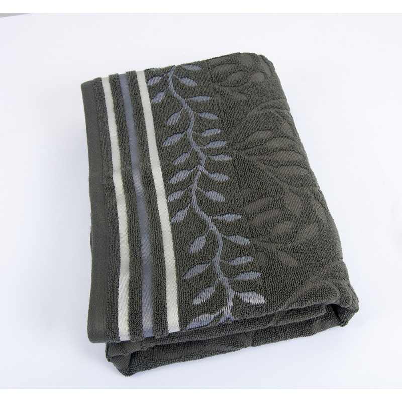 Полотенце Shamrock - Dione антрацит 50*90 см