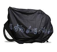 Чехол для Велосипеда накидка вело от дождя черный