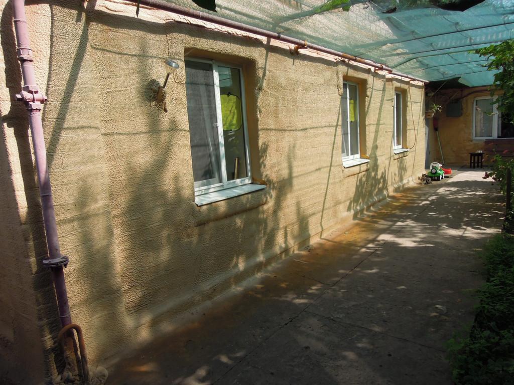 Утепление пенополиуретаном жилого дома по ул. Руставелли, г. Запорожье
