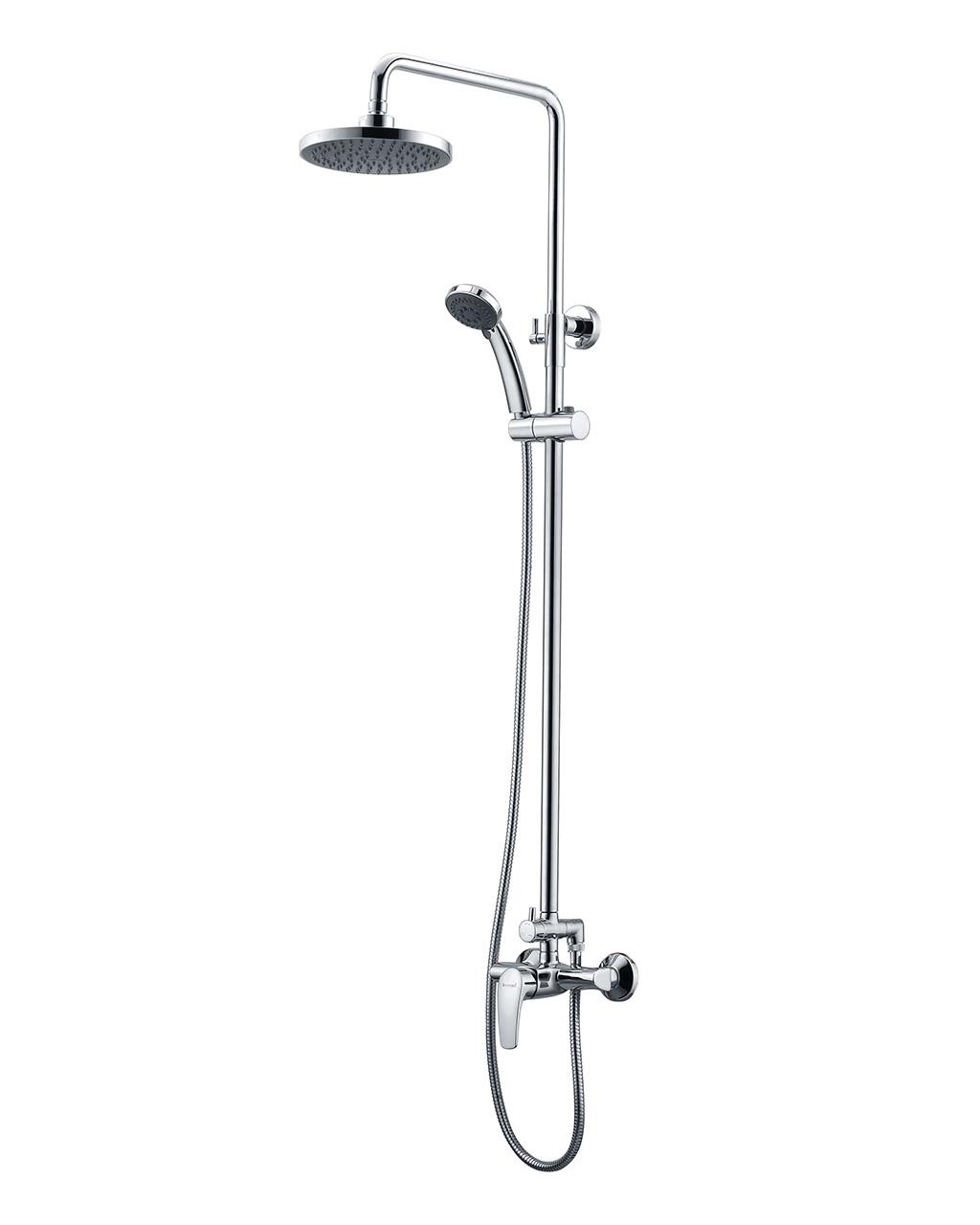JESENIK система душевая  (смеситель для душа, верхний и ручной душ, 3 режима, шланг 1,5м)