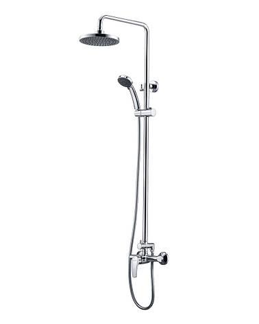 JESENIK система душевая  (смеситель для душа, верхний и ручной душ, 3 режима, шланг 1,5м), фото 2