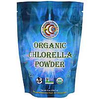 Earth Circle Organics, Органическая хлорелла в порошке, 8 унций (226,7 г)