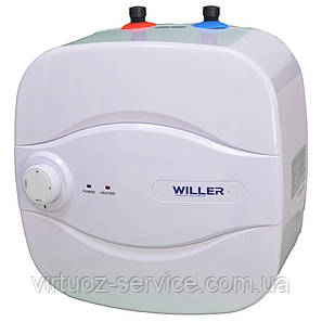 Водонагреватель (Бойлер) на 10 литров электрический Willer PU10R New Optima Mini, фото 2