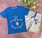 Детские костюмы на мальчиков футболка с шортами, фото 3