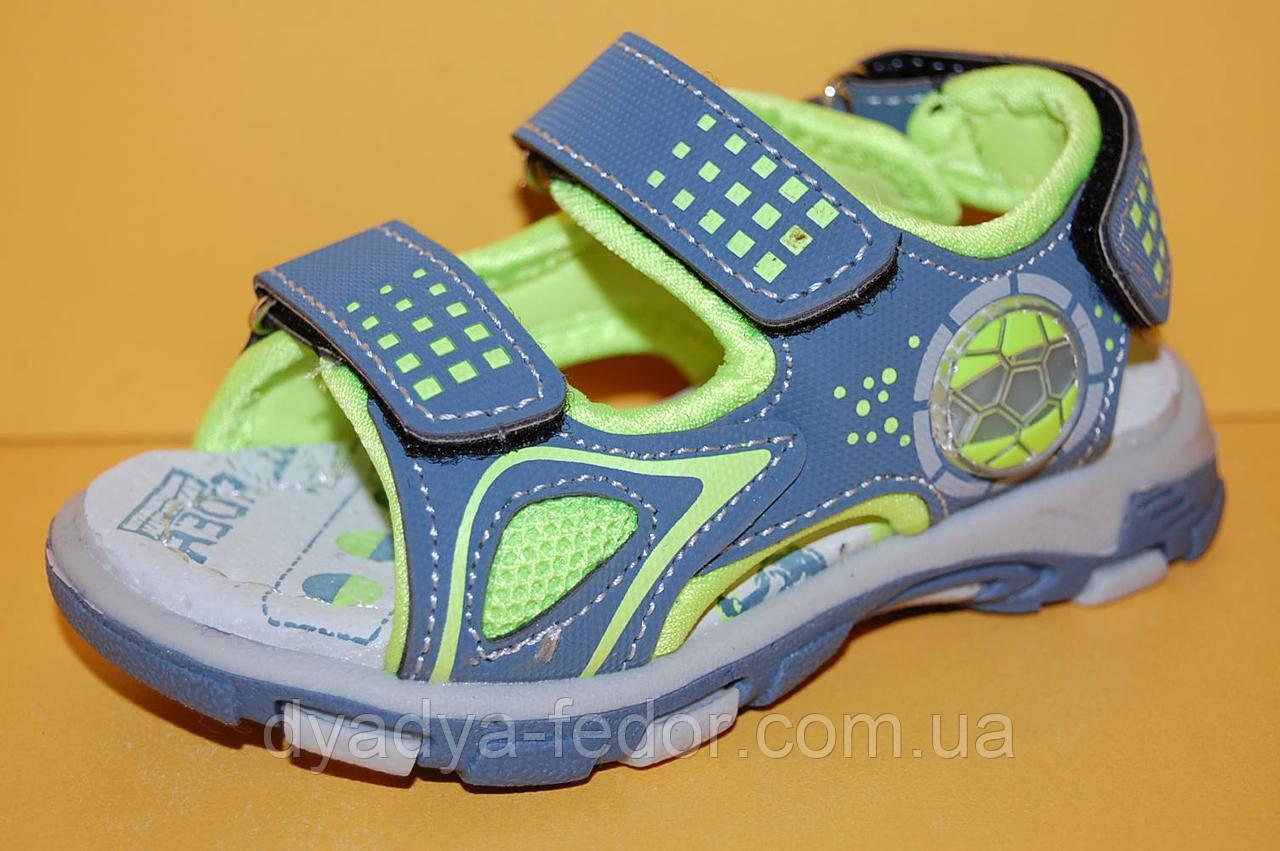 Детские  сандалии ТМ Том.М код 3420 серый размер 22