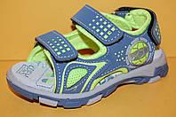 Детские  сандалии ТМ Том.М код 3420 серый размер 22, фото 1