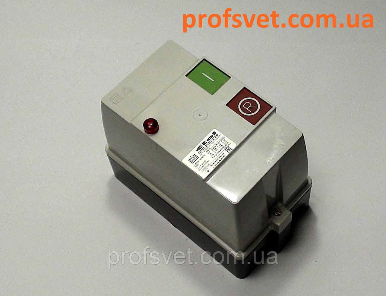 Пускатель ПМЛ-2230 корпус IP-54 25А реле кнопки