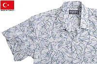 Молодежные и модные рубашки с коротким рукавом.