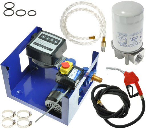Топливный насос 950W CPN GEKO G01023 + G00952 + 2x G00953