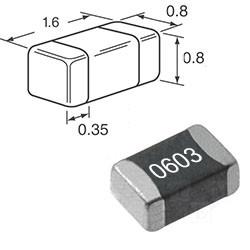 SMD конденсаторы 0603