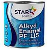 "Эмаль ПФ-115 ""STAR Paint"" Зелёная изумрудная 0,9 кг"