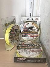 Плетеный Рыболовный шнур 500м для рыбалки плетенка нить