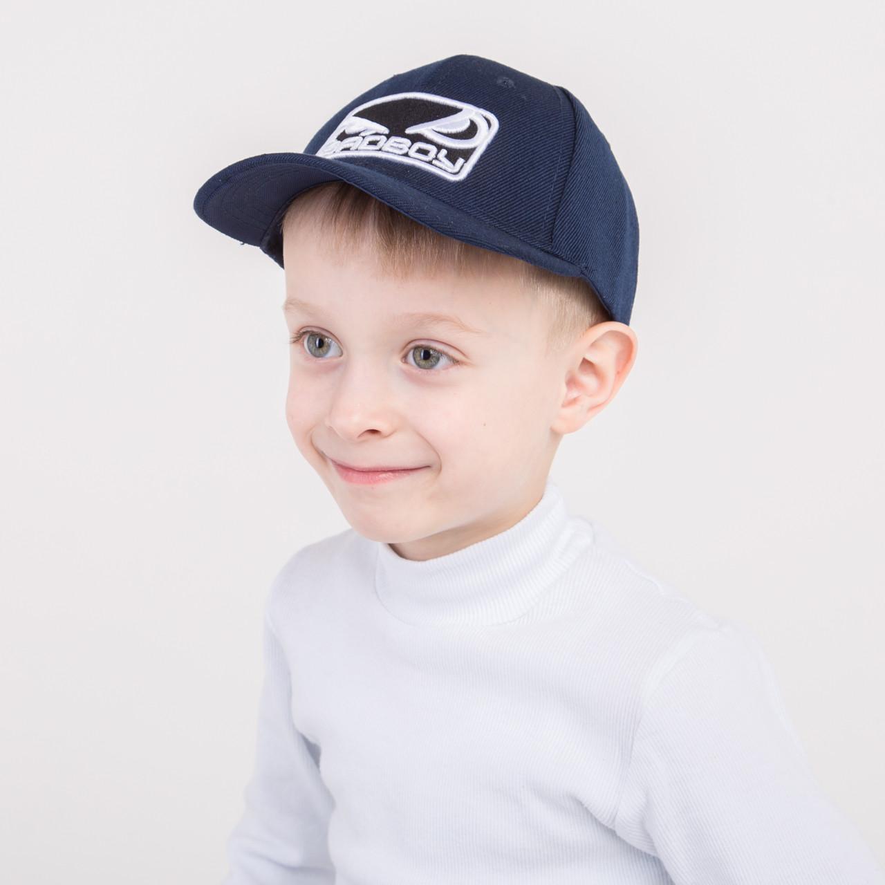 Модная кепка на весну-лето для мальчика - BadBoy - 82018-35а