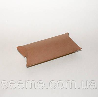 Коробка - подушка, 50х80х20 мм, колір крафт