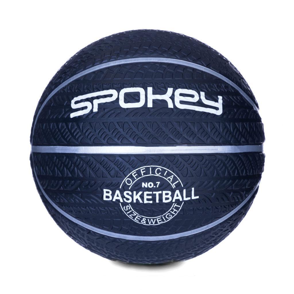 Баскетбольний м'яч Spokey MAGIC розмір 7 Black (s0260)