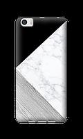 Чехол для Xiaomi Mi5 Тройной мрамор (черный) опт/розница