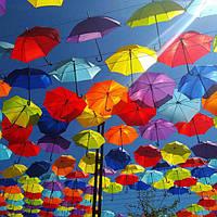 Акция: Зонты для украшения летних площадок