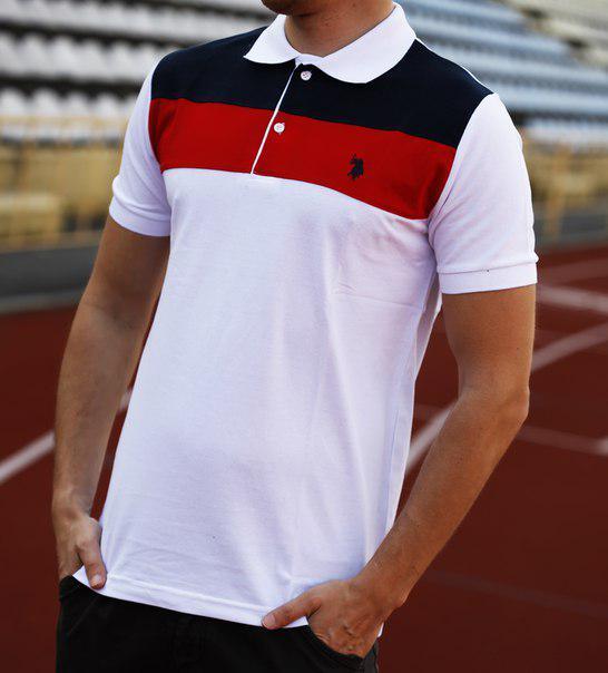 Мужская футболка поло Polo Ralph Lauren Corporation (реплика)