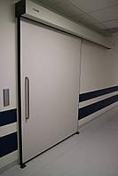 Manusa Visio Hermetic раздвижные рентгенозащитные двери для кабинетов радиологии (950*2200)