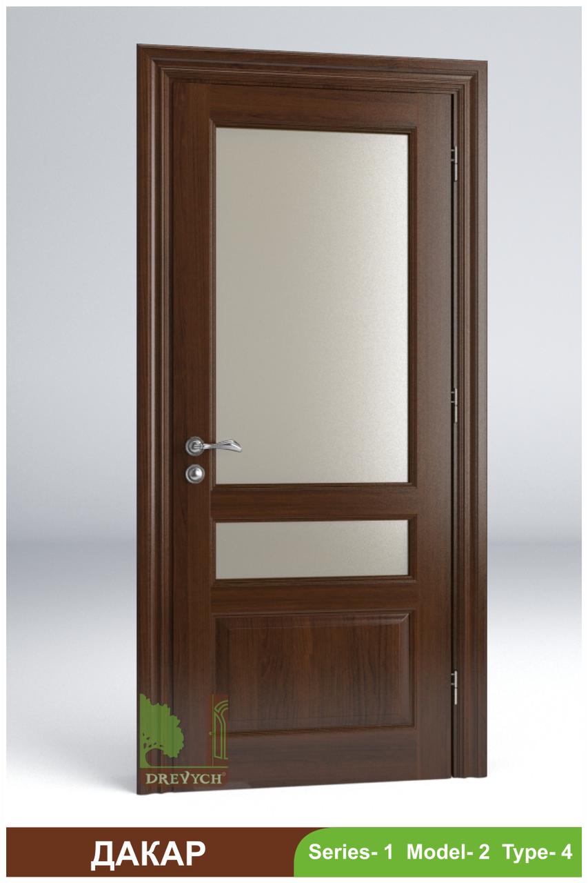 Двері міжкімнатні з масиву Дакар