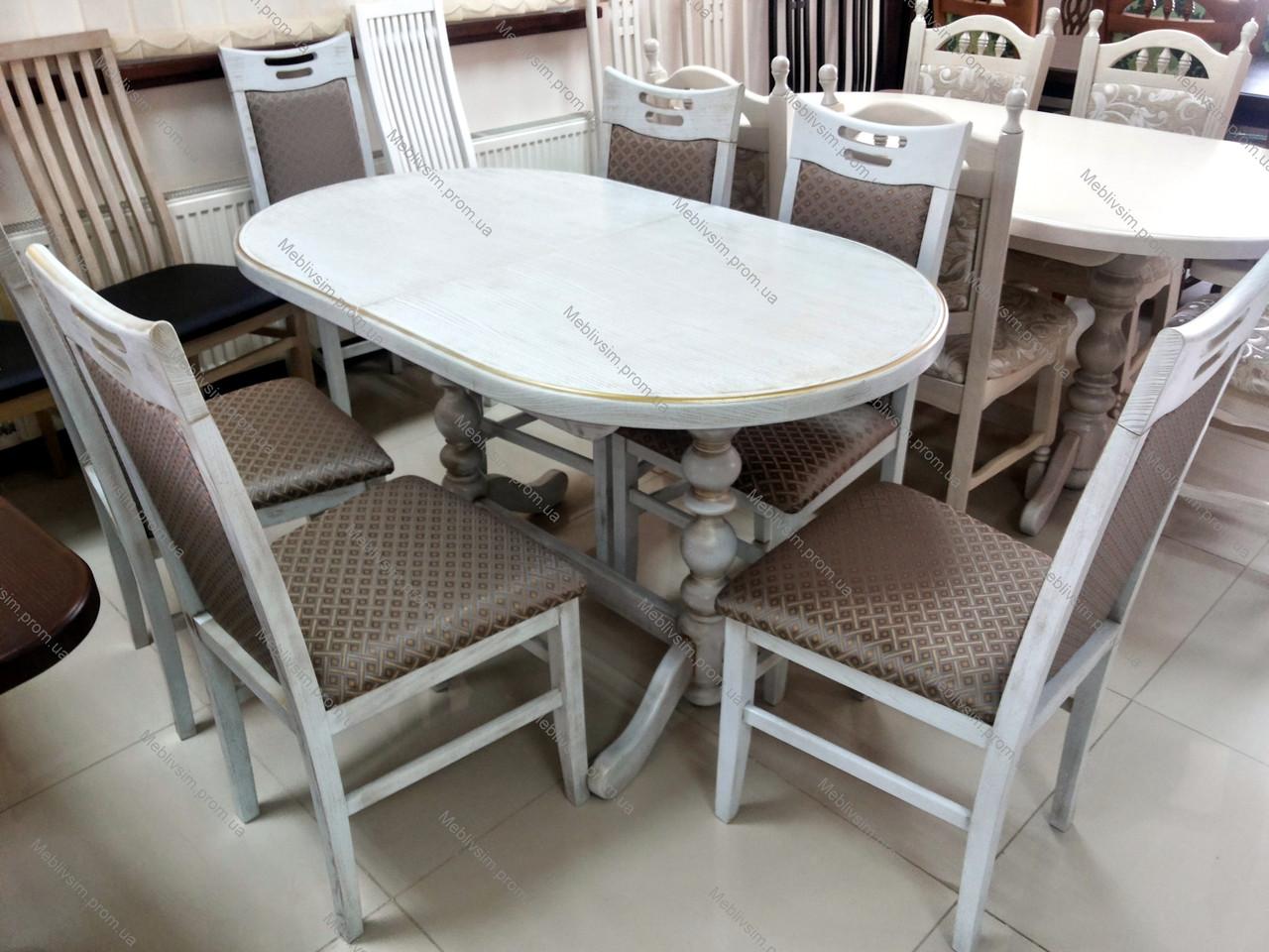 Стол кухонный овальный  Гирне 5  GOOD WOOD Рускополянский Мебельный Комбинат Явир