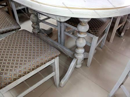 Стол кухонный овальный  Гирне 5  GOOD WOOD Рускополянский Мебельный Комбинат Явир, фото 2