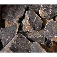 Камни для бани базальт колотый, 20 кг.