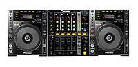 Аренда стола для DJ: Pioneer CDJ-850 - 2 шт, микшер Pioneer DJM-700 - 1 шт