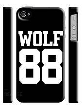Чехол для iPhone 4/4s/5/5s/5с wolf 88