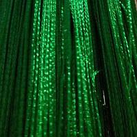 Шторы нити Однотонные Лайт №211 Тёмно Зеленый