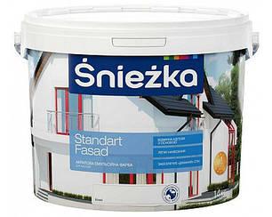 """Краска водоэмульсионная акриловая для фасадов Снежка """"Standart Fasad"""""""