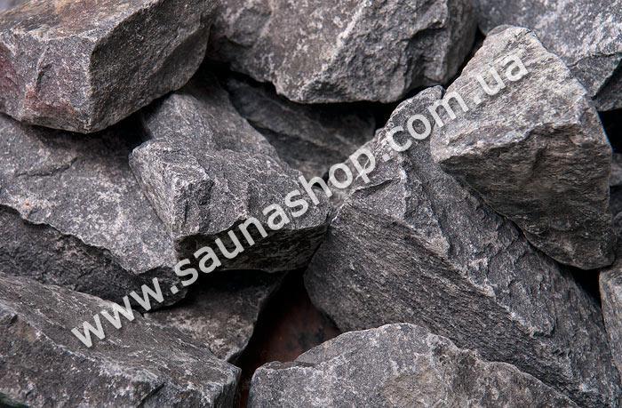 Камені для саун і лазень Діабаз колотий, 20 кг.