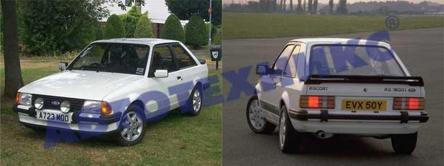 FORD ESCORT III / ORION 81-86