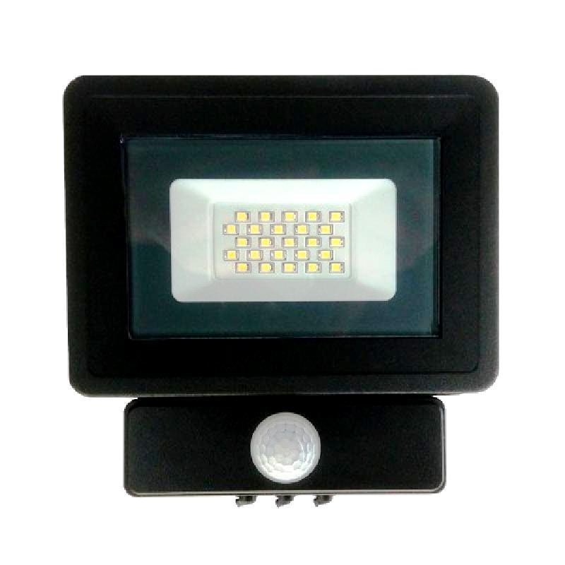 Прожектор светодиодный 20W 220V с датчиком