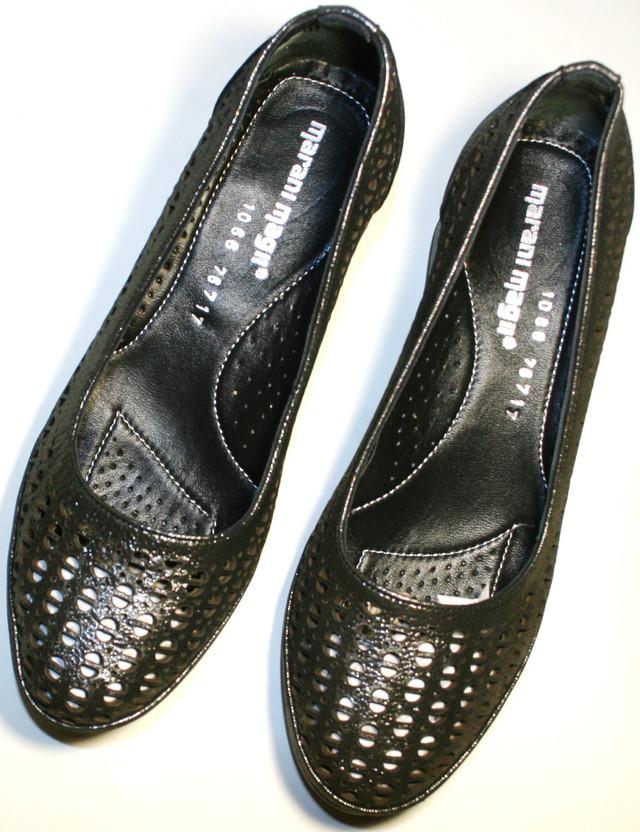 Кожаные Летние Туфли на Толстом Каблуке Marani Magli — в Категории ... d6ca65f287141