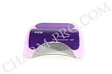 Лампа для маникюра и педикюра Nail Professional LED+CCFL 48W (фиолетовая)