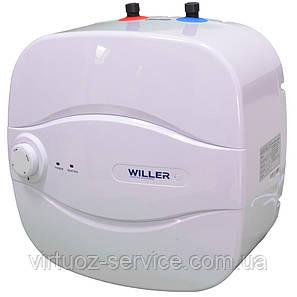 Водонагреватель (Бойлер) на 15 литров электрический WILLER PU15R New Optima Mini, фото 2