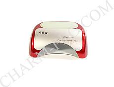 Лампа для запекания гель лака Nail Professional LED+CCFL 48W (красная)