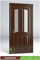Двері міжкімнатні з масиву Занзібар