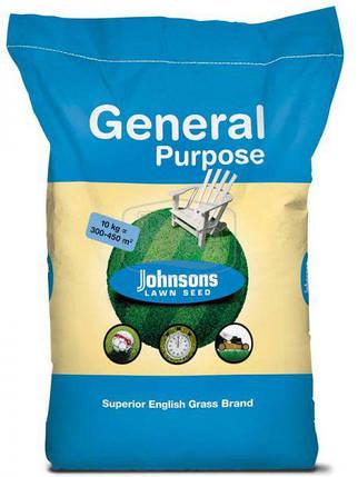 Семена травы газонной Johnsons Универсальная 10кг, фото 2