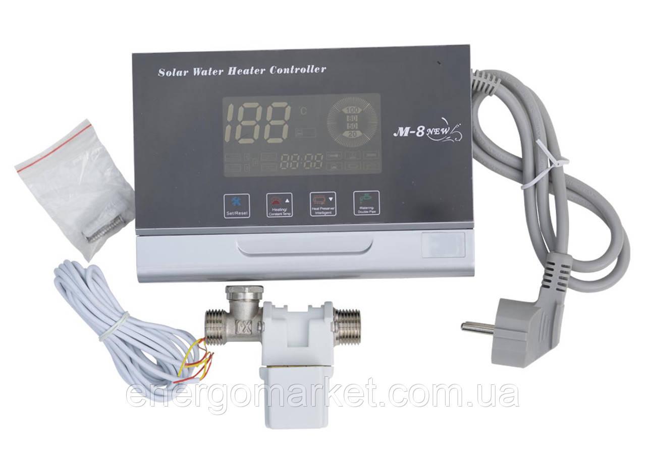 Контроллер AM-8 new для солнечных систем (гелиосистем)