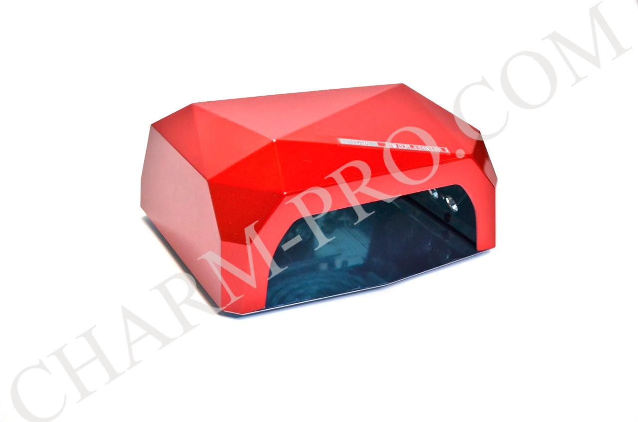 Маникюрная лампа Diamond LED+CCFL (Красная)